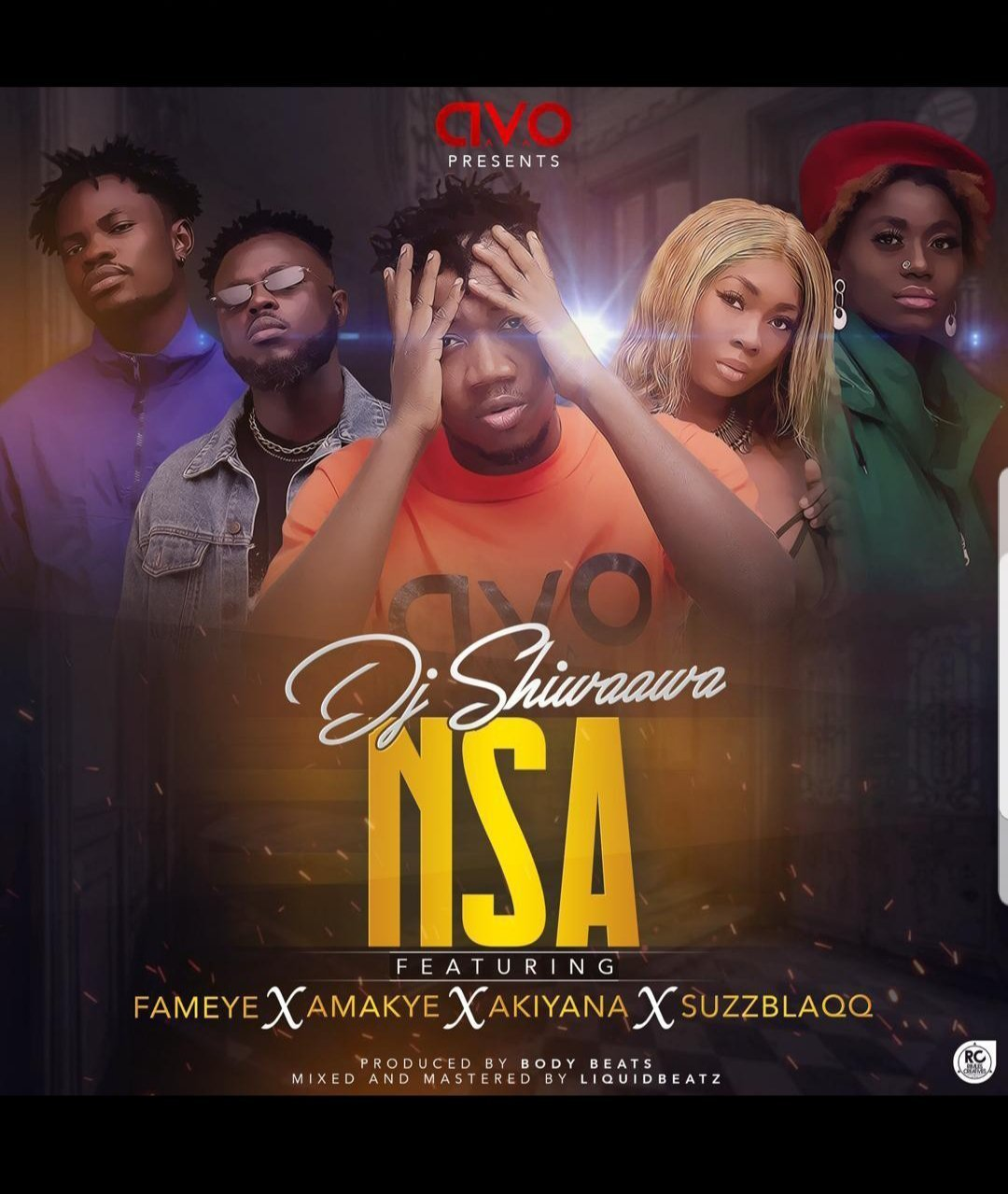 DOWNLOAD MP3: DJ Shiwaawa – Nsa Ft. Fameye, Amakye, Akiyana & SuzzBlaqq