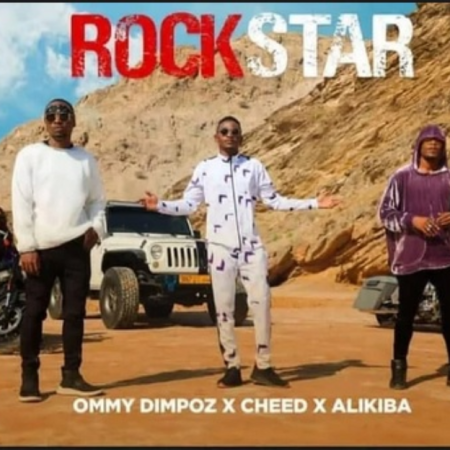 DOWNLOAD MP3: Ommy Dimpoz – Rockstar Ft Alikiba & Cheed