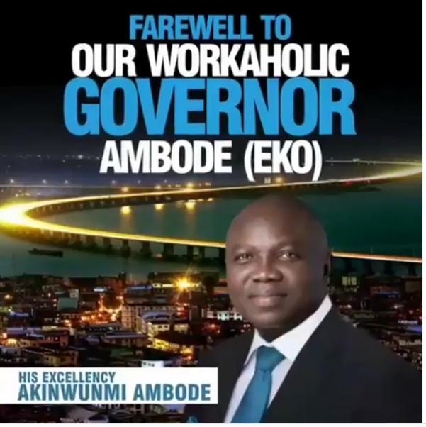 DOWNLOAD MP3: Eedris Abdulkareem – Farewell To Ambode