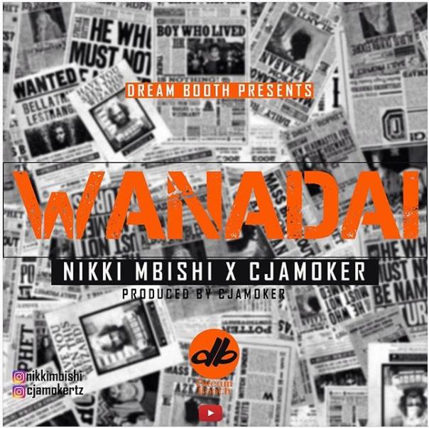DOWNLOAD MP3: Nikki Mbishi – Wanadai Ft. Cjamoker