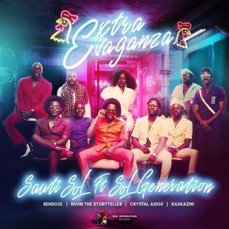 DOWNLOAD MP3: Sauti Sol – Extravaganza Ft. Bensoul, Nviiri the Storyteller, Crystal Asige, Kaskazini