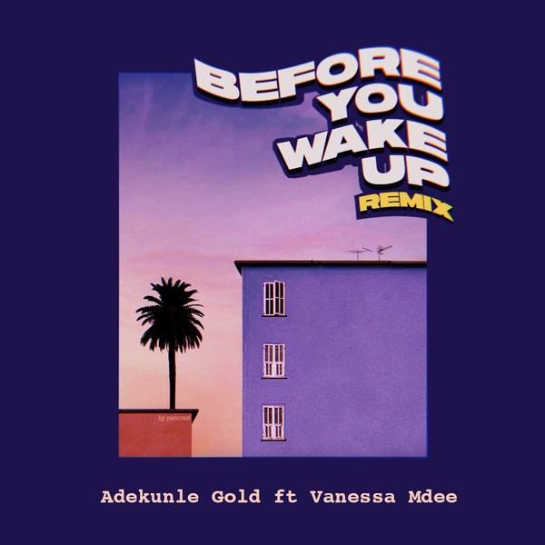 DOWNLOAD MP3: Adekunle Gold – Before You Wake Up (Remix) Ft. Vanessa Mdee