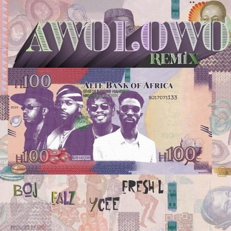 DOWNLOAD MP3: BOJ – Awolowo (Remix) Ft. Falz, Ycee, Fresh L