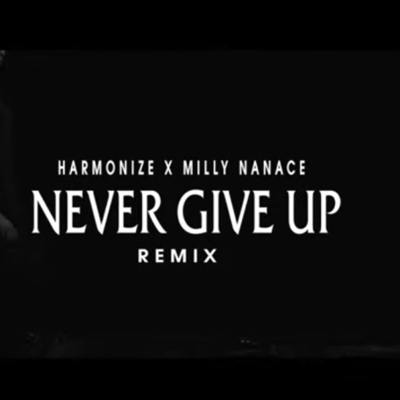 DOWNLOAD MP3: Harmonize – Never Give Up (Remix) Ft. Milly Nanace